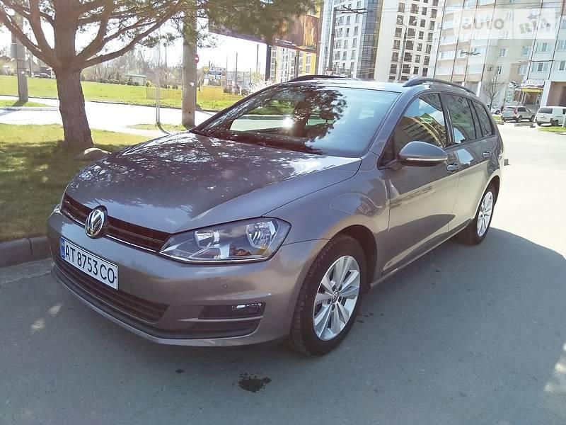 Унiверсал Volkswagen Golf VII 2015 в Івано-Франківську