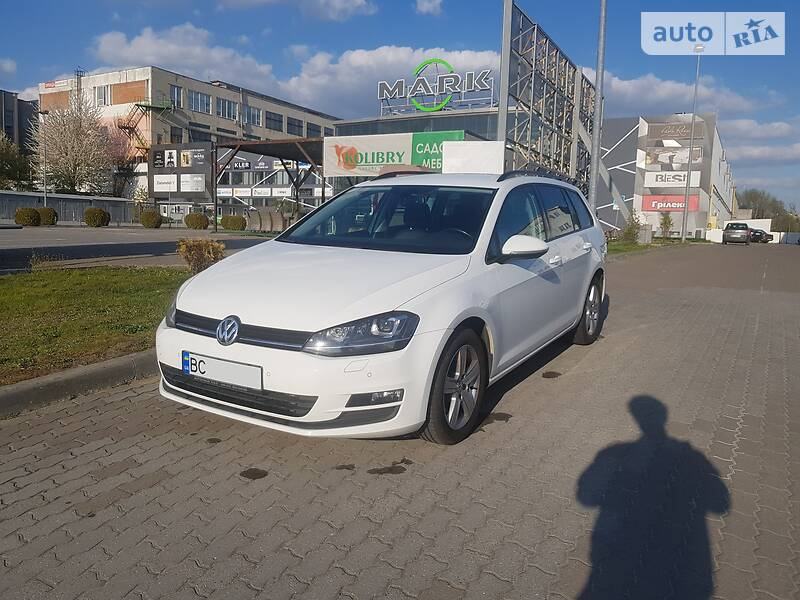 Унiверсал Volkswagen Golf VII 2016 в Львові