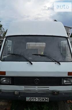 Легковой фургон (до 1,5 т) Volkswagen LT груз.-пасс. 1986 в Борисполе
