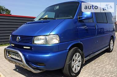Volkswagen Multivan 2002 в Ковеле