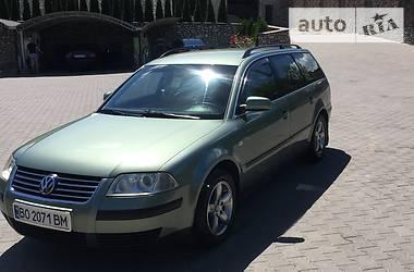Унiверсал Volkswagen Passat B5 2001 в Підволочиську