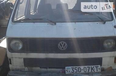 Volkswagen T2 (Transporter) пасс. 1985 в Киеве