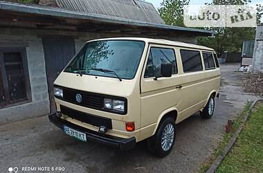 Мінівен Volkswagen T3 (Transporter) груз-пас. 1987 в Дніпрі