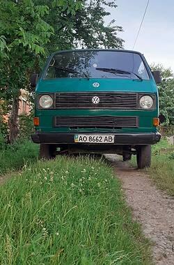 Легковой фургон (до 1,5 т) Volkswagen T3 (Transporter) груз. 1986 в Ивано-Франковске