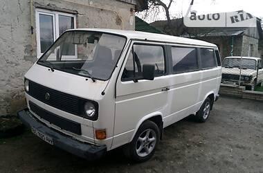 Легковий фургон (до 1,5т) Volkswagen T3 (Transporter) пас. 1985 в Тернополі