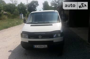Volkswagen T4 (Transporter) груз-пасс. 1995 в Черновцах