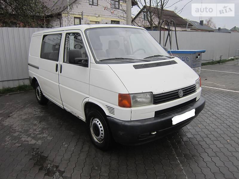 Volkswagen T4 (Transporter) груз-пасс. 2000 в Луцке