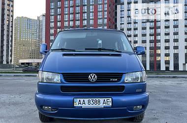 Легковой фургон (до 1,5 т) Volkswagen T4 (Transporter) груз-пасс. 2001 в Киеве
