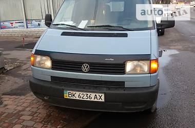 Volkswagen T4 (Transporter) груз 1996 в Ровно