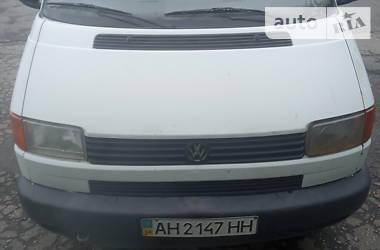 Легковий фургон (до 1,5т) Volkswagen T4 (Transporter) груз. 1996 в Покровську