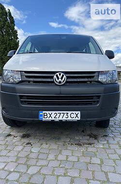 Минивэн Volkswagen T5 (Transporter) груз-пасс. 2013 в Каменец-Подольском