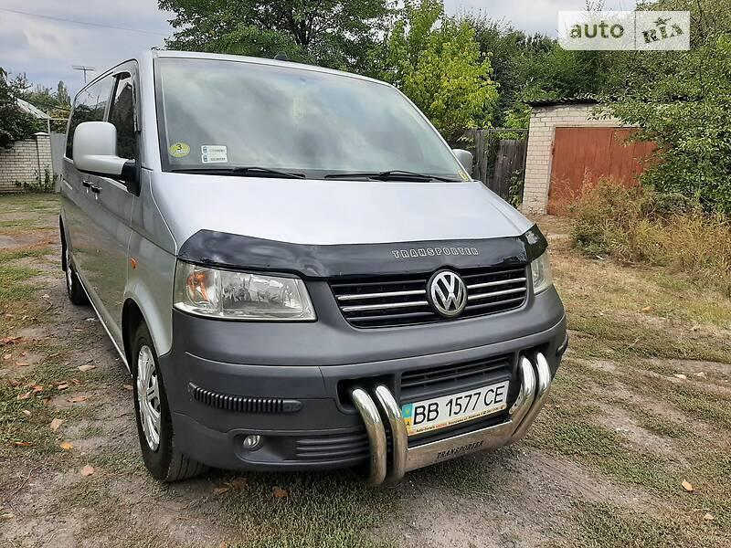 Volkswagen T5 (Transporter) груз-пасс. long