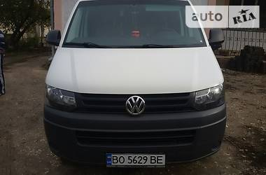 Легковой фургон (до 1,5 т) Volkswagen T5 (Transporter) груз. 2012 в Тернополе