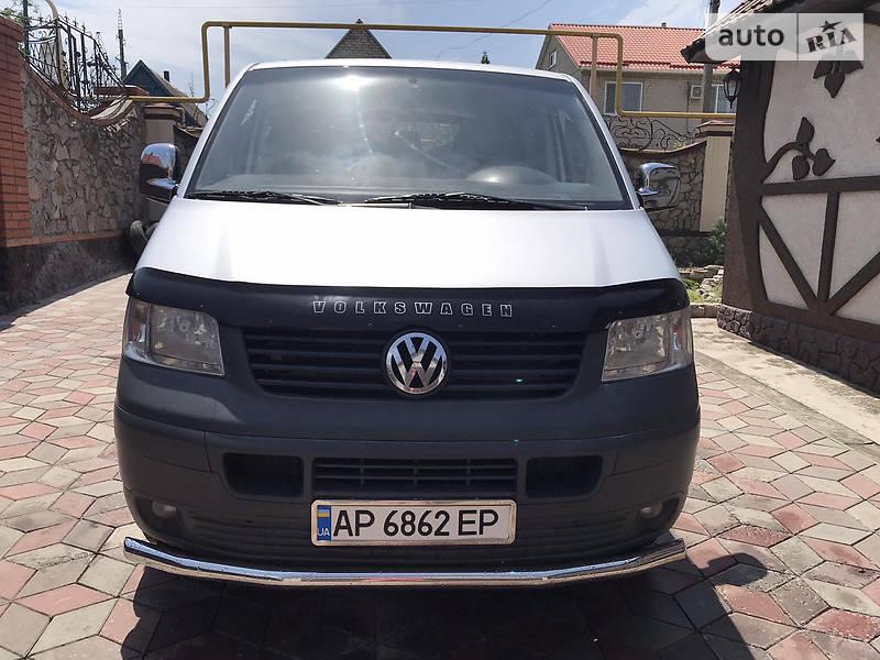 Мінівен Volkswagen T5 (Transporter) пасс. 2008 в Василівці