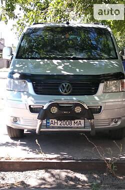 Легковий фургон (до 1,5т) Volkswagen T5 (Transporter) пасс. 2007 в Маріуполі