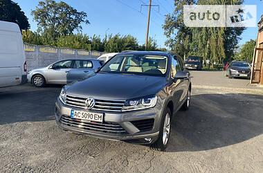 Позашляховик / Кросовер Volkswagen Touareg 2012 в Луцьку