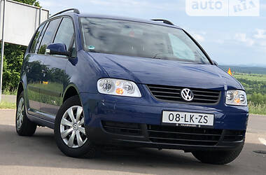 Мінівен Volkswagen Touran 2004 в Дрогобичі