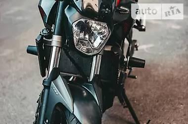 Мотоцикл Спорт-туризм Yamaha MT-07 2015 в Дрогобыче