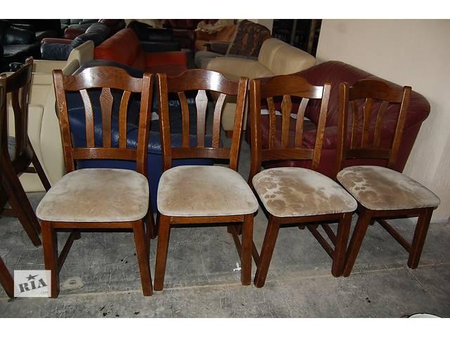 продам №1290.Комплект 4 стула дубовых бу из Голландии  бу в Киеве