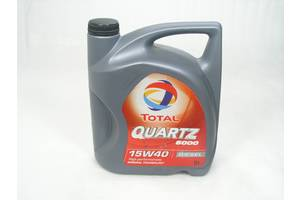 15W-40 Total Quartz 5000 Diesel 5л 2008 . Мастило моторне мінеральне.