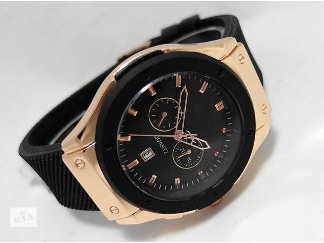 5 цветов! Кварцевые часы Hublot Duo- объявление о продаже  в Тернополе
