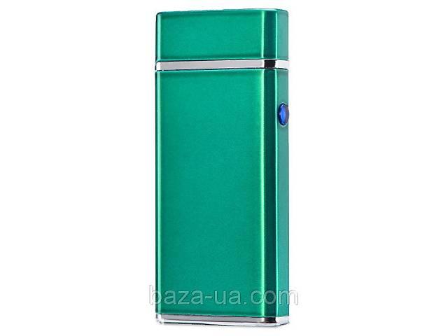 купить бу Электроимпульсная USB зажигалка WEXT Amethyst зелёная в Киеве