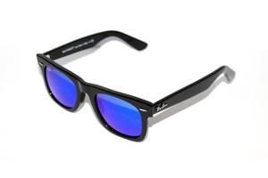 Нові Сонячні окуляри Ray Ban Добавить фото. Сонцезахисні окуляри Ray-Ban  Original Wayfarer Чорно-сині (RB 2140 901 17) a9fc0136dbc6b