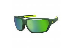 Спортивные очки SCOTT VECTOR green/yellow green chrome