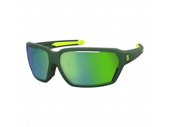 купить бу Спортивные очки SCOTT VECTOR green/yellow green chrome  в Украине