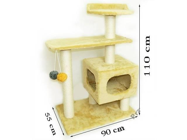 Когтеточки, домик для большой кошки - MAINE COON мейн кун 110см- объявление о продаже  в Львове