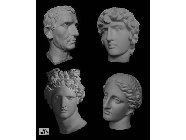 продам Академічні гіпсові голови (Венера, Аполлон, Серпень та ін) бу в Дніпрі (Дніпропетровськ)