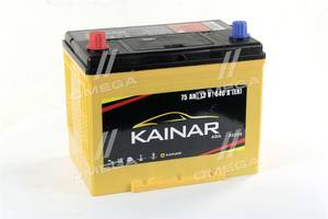 Акумулятор 75Ah-12v KAINAR Asia (258x173x220),L,EN640