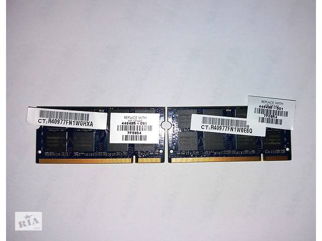 Оперативная память для ноутбука 2x1gb So-dimm Ddr2 667mhz