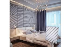 3D панели из гипса для стен и потолка. Интерьерный декор