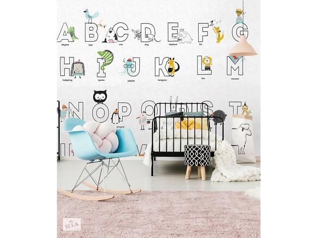купить бу Английский Азбука Учим Английский Алфавит панно в детскую дизайнерское Animal ABC 60 см х 60 см в Киеве
