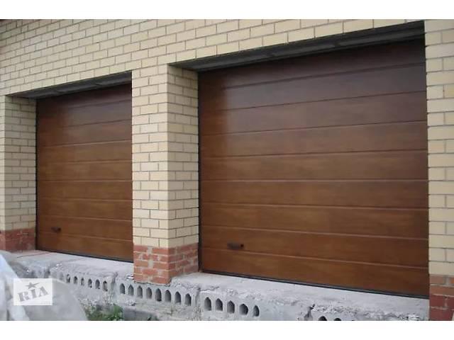 Автоматические секционные гаражные ворота, автоматика для ворот- объявление о продаже  в Мелитополе