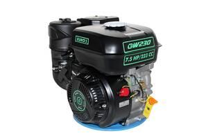 Бензиновый двигатель WEIMA W230F-Т/25 шлицы 25 мм (52-20067)