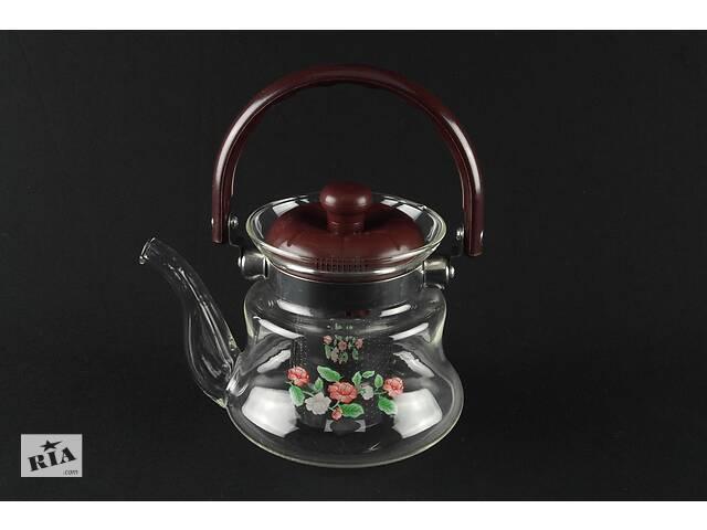 Чайник стеклянный для заваривания чая из жаропрочного термостойкого стекла А-Плюс заварник для чая- объявление о продаже  в Харькове