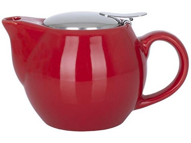 Чайник заварочный LIMITED EDITION OPERA 450 мл/ красный /в упак (JH10044-A76)- объявление о продаже  в Киеве