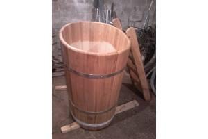Деревянные бочки для вина, дубовые кадки для солений.