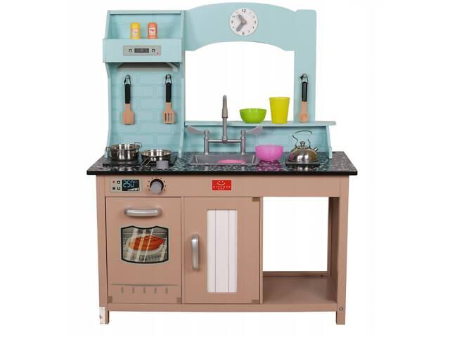 продам Детская деревянная кухня AVKO Софія C461 + посуда бу в Львове