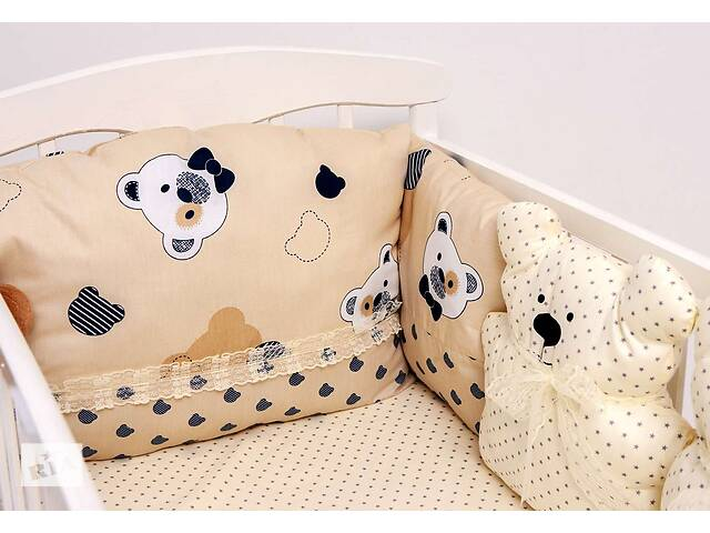 бу Детский постельный набор Бэйби-беж сатин SKL20-240445 в Харькове