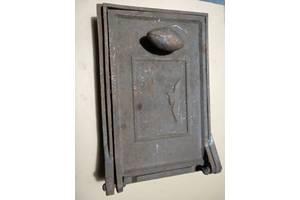 Дверца чугунная печная для поддува