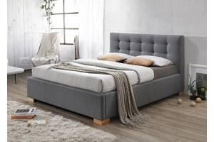 Двоспальне ліжко Copenhagen 160X200 Сірий