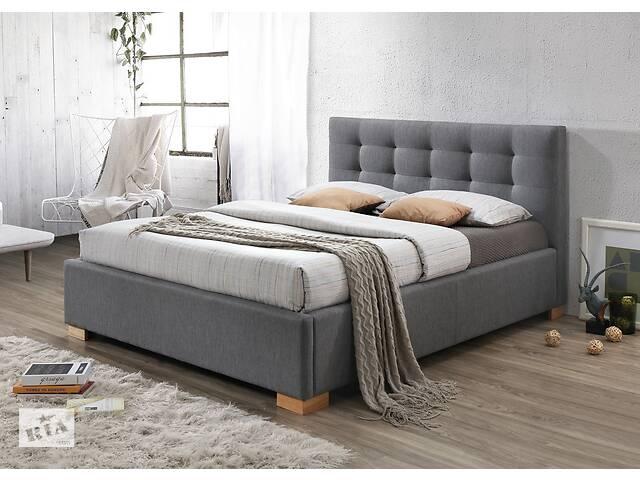 бу Двоспальне ліжко Copenhagen 160X200 Сірий в Одессе