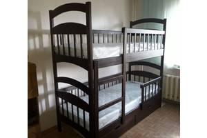 Двухъярусная деревянная кровать Карина Люкс Усиленное Акция