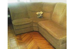 Кутовий диван з пружинним блоком