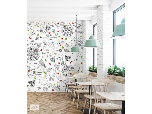 продам Дизайнерское панно для пиццерии ресторана кафе Pizzeria 150 см х 110 см бу в Киеве