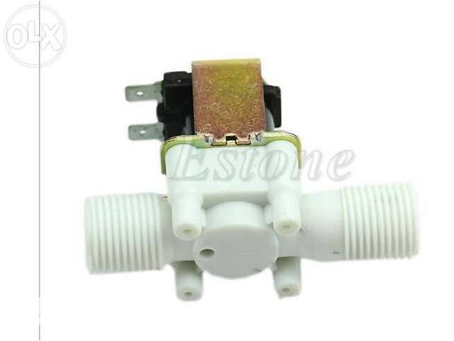купить бу Электромагнитный клапанов 12 24 и 220V для воды электроклапан соленоид в Смеле