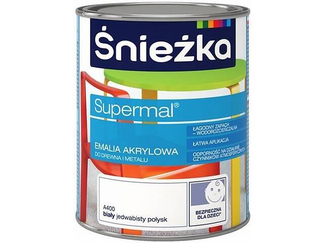 продам Эмаль Sniezka Супермаль белая 0.8 л бу в Одессе